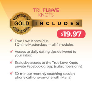 true love knots gold membership