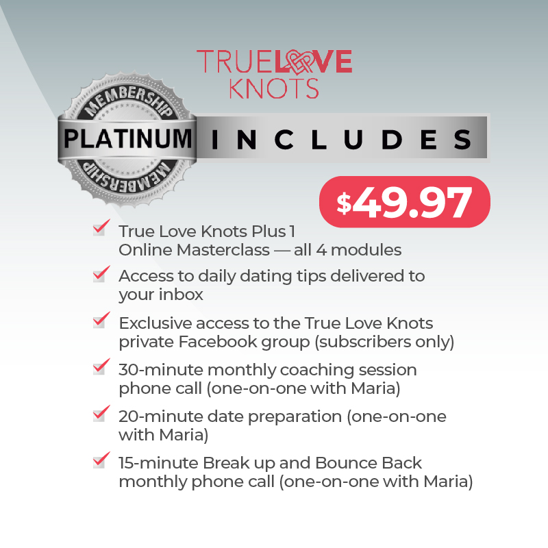 true love knots platinum membership